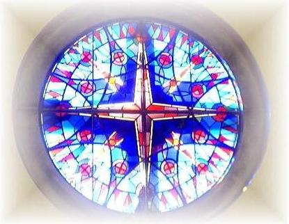 Stained Glass Windoe, St Joseph Parish